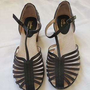 ❤ Jambu Sofia leather sandals
